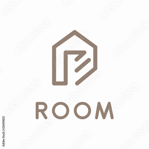Minimalist House Logo Design Concept Stock Image And Royalty Free