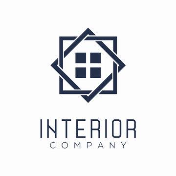 Minimalist Interior Logo Design Concept
