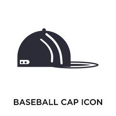 baseball cap icon on white background. Modern icons vector illustration. Trendy baseball cap icons