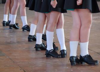 Irish Dancing Feet