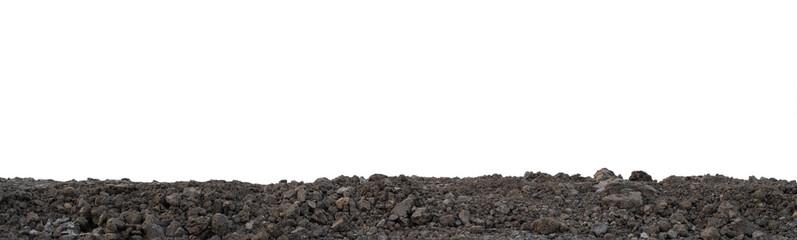 Pile of gardening soil surface for planting