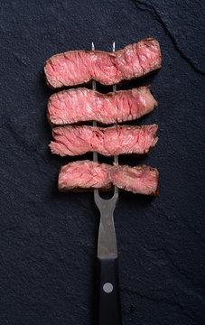 Grilled beef steak ribeye