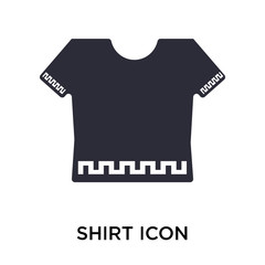 shirt icon on white background. Modern icons vector illustration. Trendy shirt icons