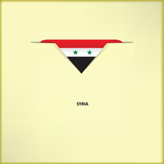 National flag Syria