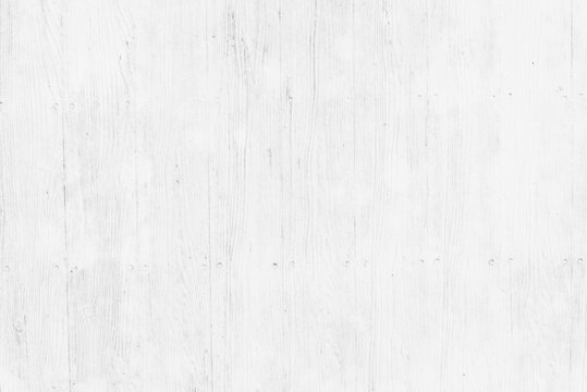 Old white pine wood plank texture background natural with pattern for interior design.