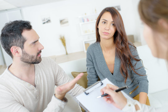 couple having counselling