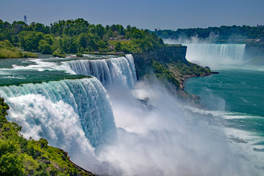 Niagara Falls from the United States side