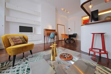 appartement rénové design