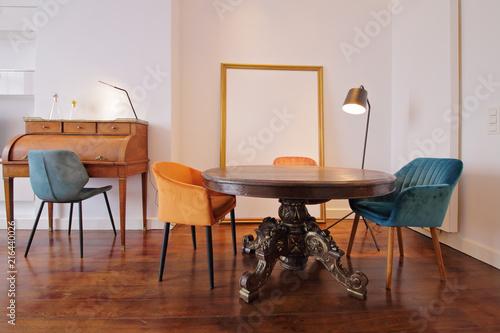table de salle à manger baroque \