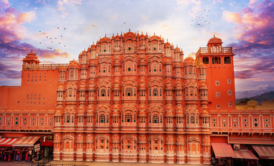 Hawa Mahal in Jaipur India Fototapete