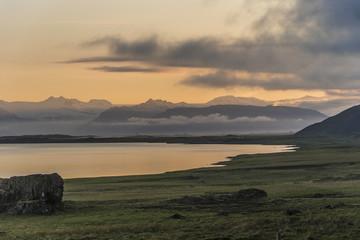 Near Stokksnes Sunset