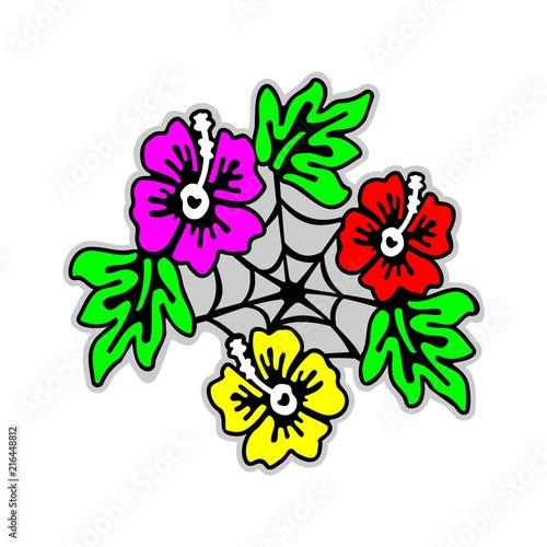 8e6ce9be7 Flower Net Tribal Tattoo