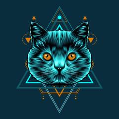 Cat Sacred Geometry