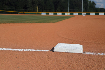 Little League Baseball infield 1st base