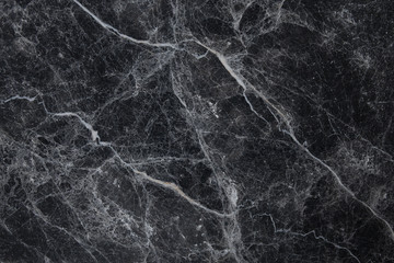 Black marble white veins