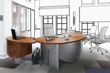 Modernes Chefbüro (Projekt)