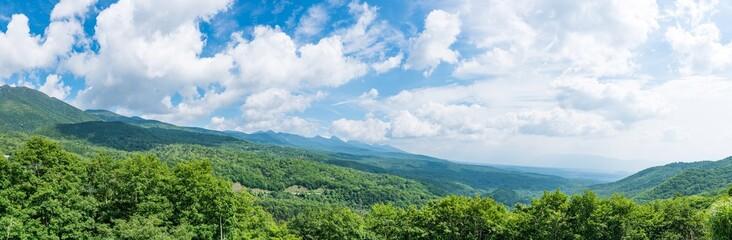 Foto auf Gartenposter Gebirge 青空・八ヶ岳
