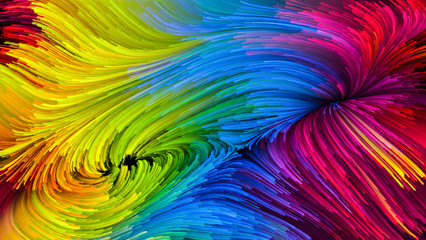 Conceptual Colorful Paint