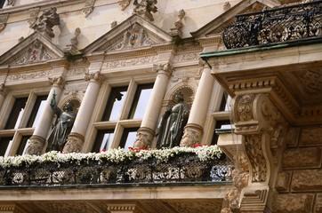 Hôtel de ville de Hambourg (Allemagne)