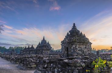 Plaosan temple sunrise, taken in August 2018