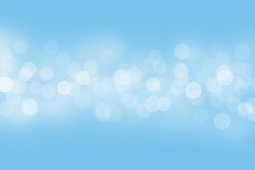 bokeh blue abstract background