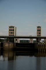 écluse de Schwinde : Navigation de Hambourg à Lüneburg (Allemagne)