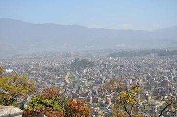 Kathmandu (capital of Nepal) panorama