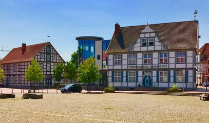 Marktplatz in Quakenbrück (Niedersachsen)