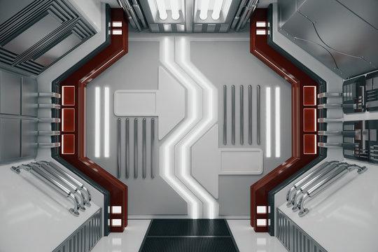 Modern futuristic tunnel