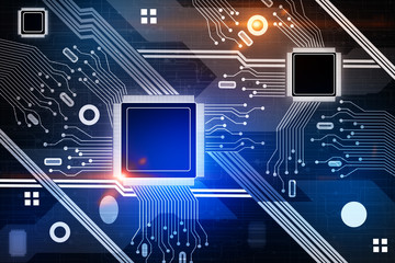 Computing and technology background