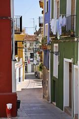 View of Villajoyosa. Province of Alicante. Spain