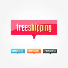 Free Shipping Shopping Tags
