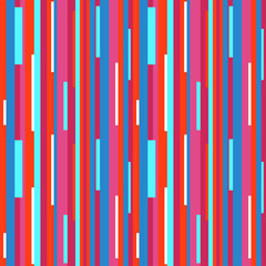 Striped multicolored background. Seamless vertical pattern. Abstract geometric wallpaper of the surface. Pretty texture. Print for polygraphy, t-shirts and textiles. Doodle for design. Art creation
