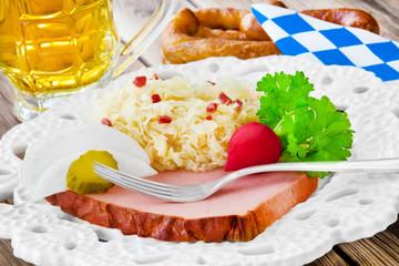 Essen und Trinken in Bayern