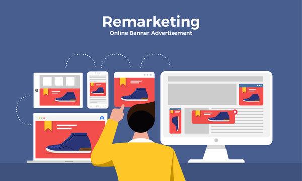 Remarketing digital marketing