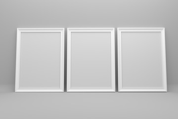 picture frame concept 3d render
