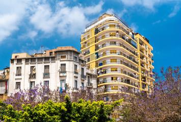 Foto op Aluminium Algerije Buildings in Oran, a major city in Algeria