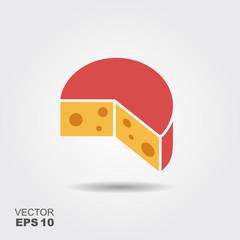 Cut cheese piece