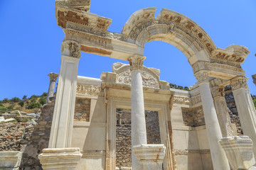 Temple of Hadrian in Ephesus, Izmir, Turkey