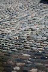 stone rock cobblestone road pattern