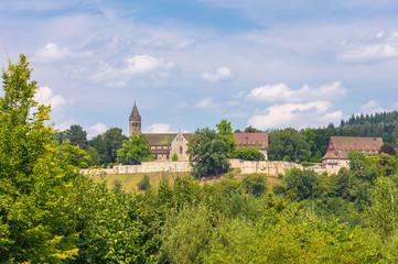 Kloster Lorch im Remstal im Sommer