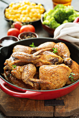 Grilled or smoked chicken