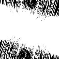 Grunge horizontal frame