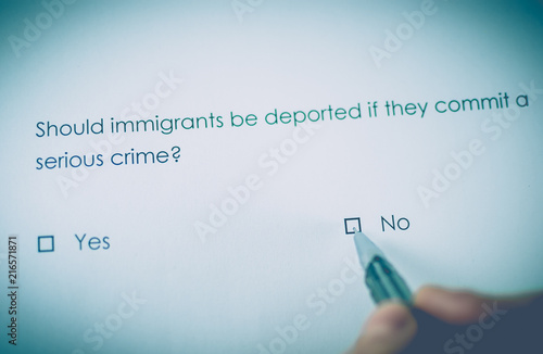 why should immigrants be allowed in Last week, we asked: should immigrants be forced to forsake their homelands you  if they want to remain citizens of, say, mexico, they cannot and should not be allowed citizenship in the us.