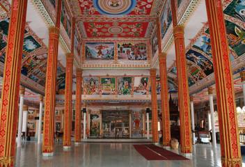 Wat That Luang Tai temple in Vientiane. Laos