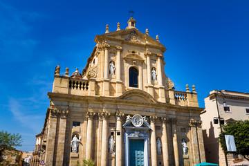 Saint Teresa alla Kalsa church in Palermo, Italy
