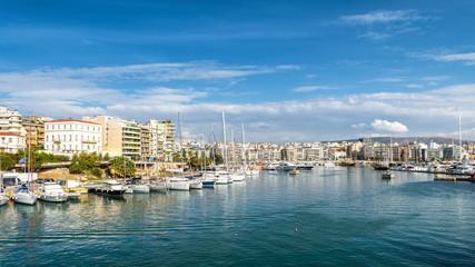 Bay of Zea or Pasalimani in Piraeus, Athens, Greece