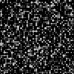 Particles. Halftone pattern. Points. Texture. Vector illustration.