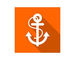 rectangle anchor image vector icon logo symbol