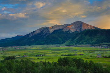 Crested Butte, Colorado Summertime in a Rocky Mountain Ski Town
